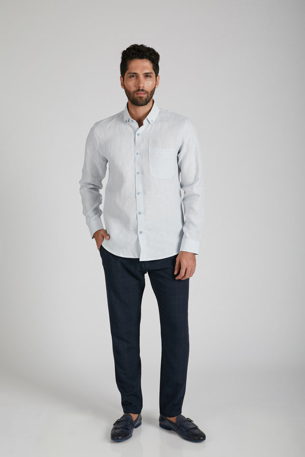 Velocity Buttondown Shirt - Blue