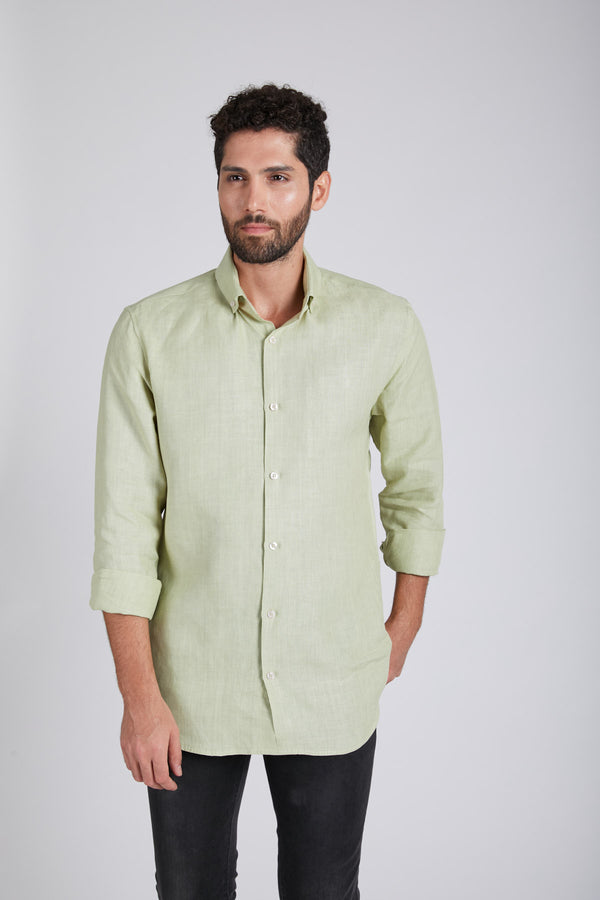 Velocity Buttondown Shirt - Green