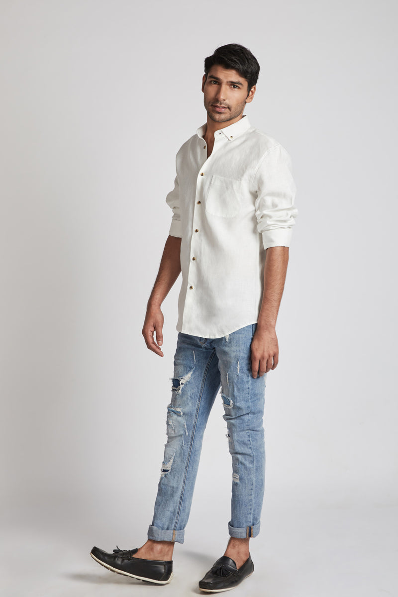 Velocity Buttondown Shirt - White