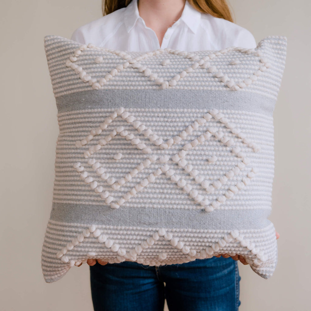 ALMAS Wool Pillow Cover