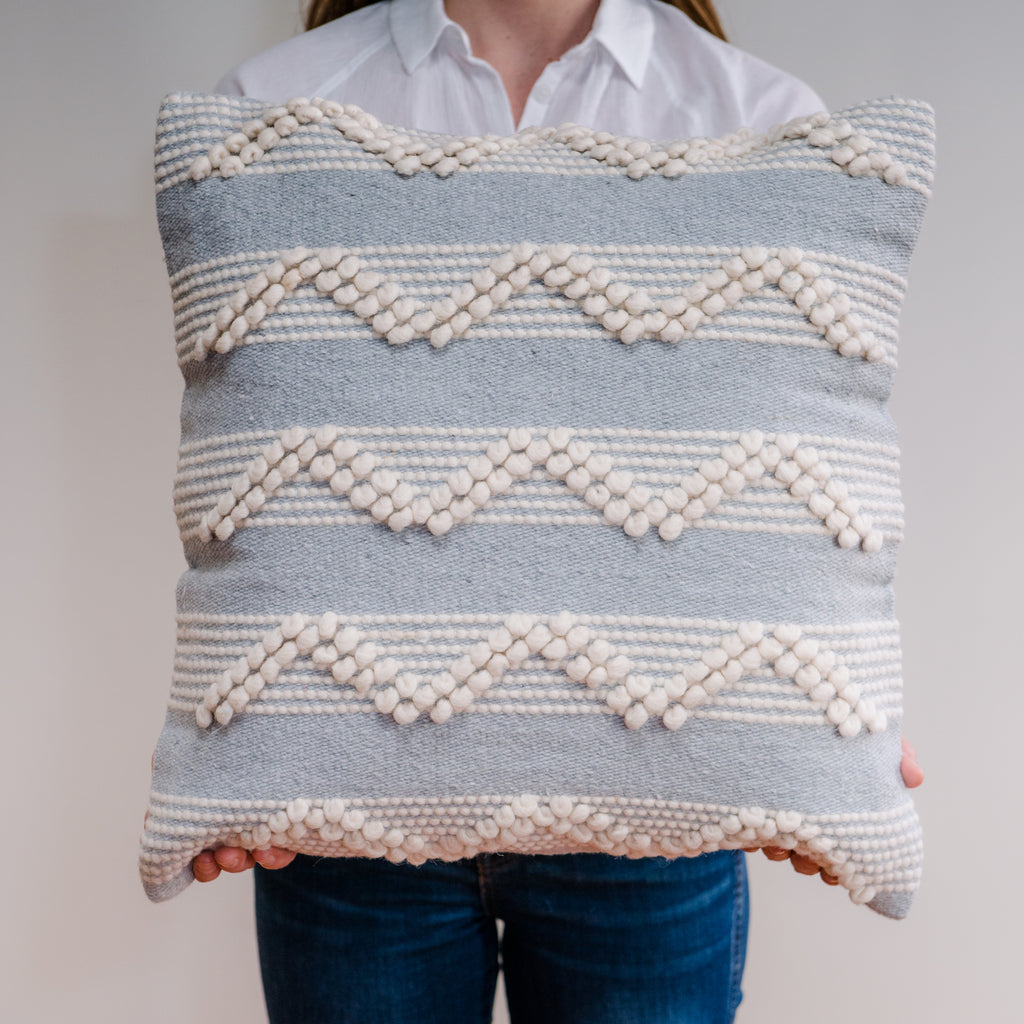 SALMA Wool Pillow Cover