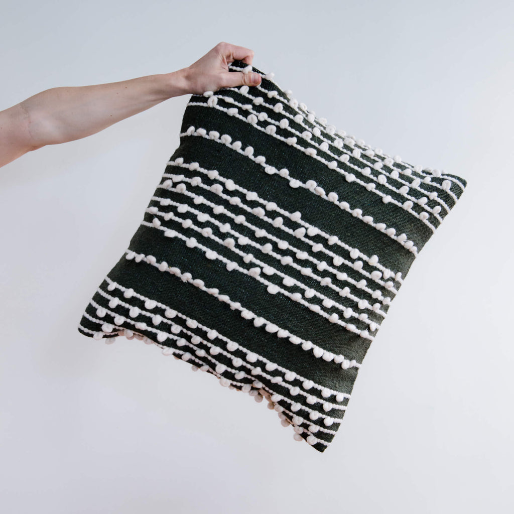 BAB Wool Pillow Cover
