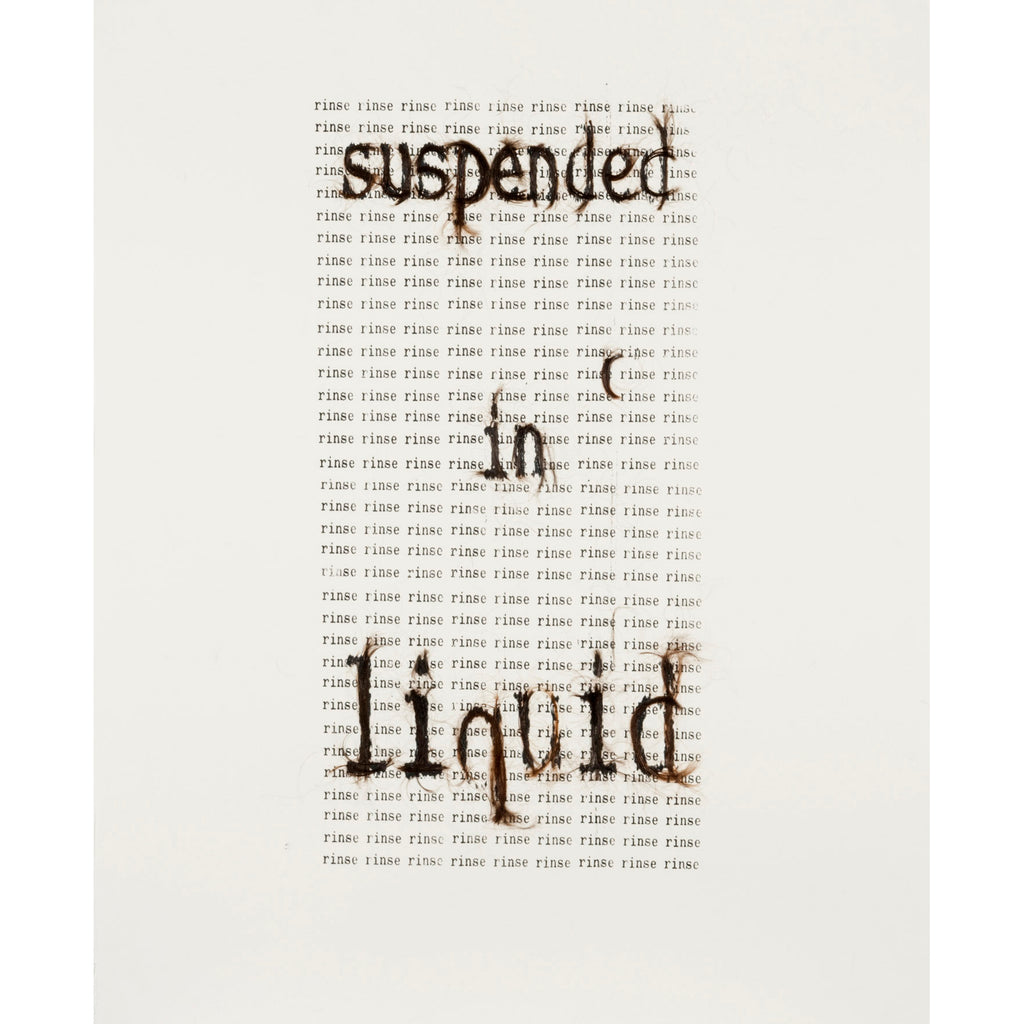 Suspended in liquid