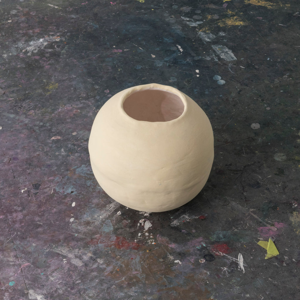 Moon Jar Series #1(Yellow), 2019