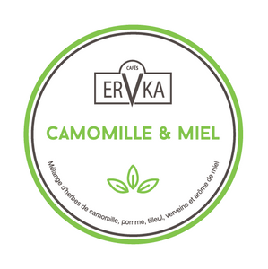 Camomille & miel  | Infusion