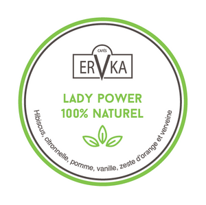 Lady power 100% naturel  | Infusion