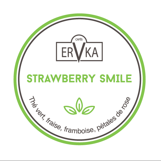 Strawberry Smile  | Thé vert