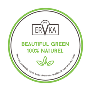 Beautiful Green 100% naturel  | Thé vert