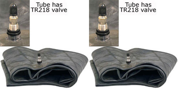 TWO NEW 12R16.5 TR218 VALVE SKID STEER BACKHOE TIRE INNER TUBES