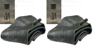 Two New 4.00/4.80-8 Lawn Tire Inner Tubes TR13 Rubber Valve Stem 400/480-8