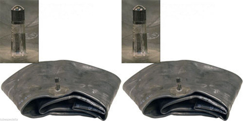 TWO- 20x8.00-8 Lawn/Garden Tire Inner Tube TR13 Standard Rubber Valve Stem