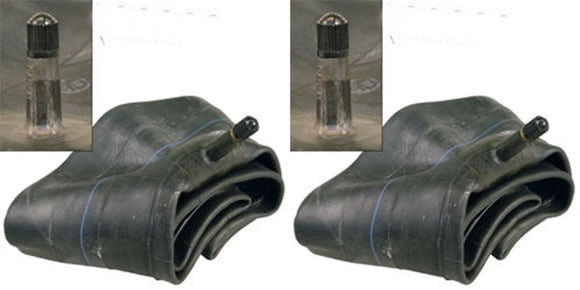 Two 4.80/4.00-8 Lawn Tire Inner Tubes fits 4.80-8 and 4.00-8 TR13 Valve Stem also fits 4.00-9