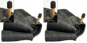 TWO NEW 5.00-8 JS2 METAL VALVE INDUSTRIAL INNER TUBES