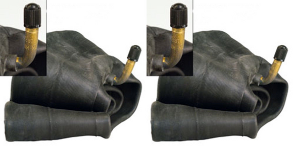 TWO New 3.50/3.00-8 Tire Inner Tubes TR87 stem fits 3.00-8,3.25-8, 3.50-8