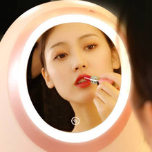Load image into Gallery viewer, [2019 New Fashion] LED HD Mirror Makeup Storage Box Cosmetic Organizer Case