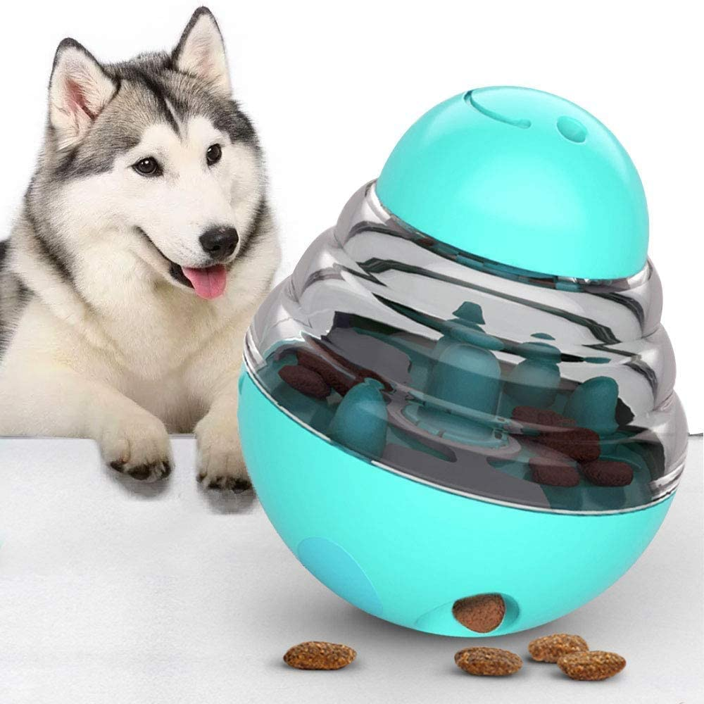 ANEAR - Pet Treat Ball Dog Cat Puppy Increases IQ Interactive Food Dispensing Ball IQ Ball Dog Puzzle Toys for Puppy Pet fun toy Funny Puzzle Food Ball