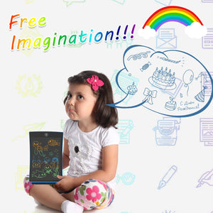 ANEAR LCD Writing Tablet, 8.5 Inch Colorful Screen Doodle Board Electronic Digital Drawing Pad with Lock Button for Kids Adults