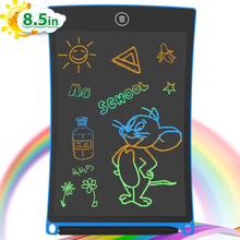 Load image into Gallery viewer, ANEAR LCD Writing Tablet, 8.5 Inch Colorful Screen Doodle Board Electronic Digital Drawing Pad with Lock Button for Kids Adults