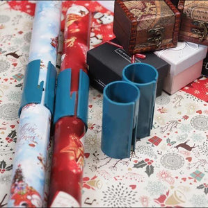 Sliding Wrapping Paper Cutter-Makes Cuts In Seconds