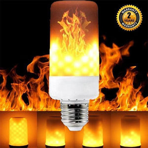 LED Gravity Effect Fire Light Bulbs