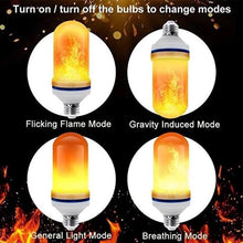 Load image into Gallery viewer, LED Gravity Effect Fire Light Bulbs