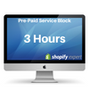 Pre-Paid Service Block 3 Hours