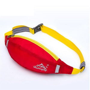 Outdoor Multifinctional Hi-Vis Sports & Travel Waist Bag (6 Colors)