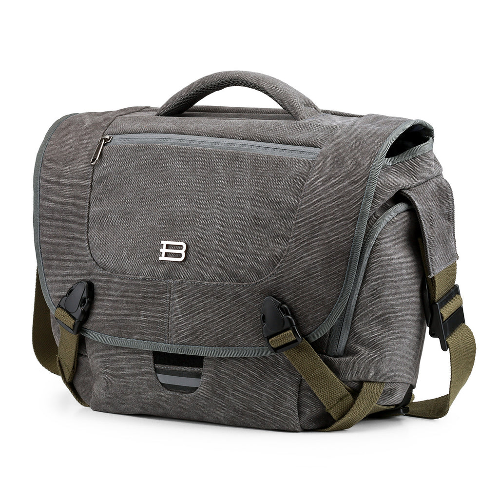 "BAGSMART Travelers' Camera Bag for DSLR Cameras & 15.6"" Laptop - I Have Wanderlust"