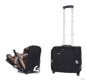 2 or 4 Wheeled Business Trolley Carry-on (2 Styles) - I Have Wanderlust