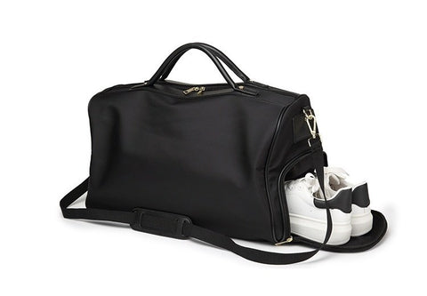 The Shoe Compartment Weekender (2 Colors) - I Have Wanderlust