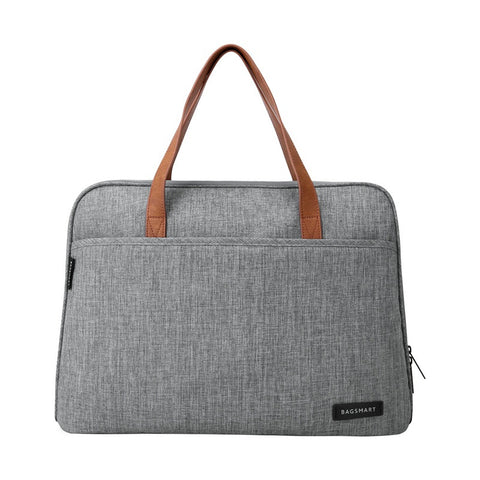 "The BAGSMART 14"" Deluxe Laptop Briefcase - I Have Wanderlust"