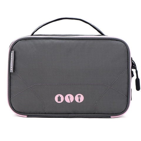 BAGSMART Waterproof Cosmetic Organizer Bag (3 Colors) - I Have Wanderlust