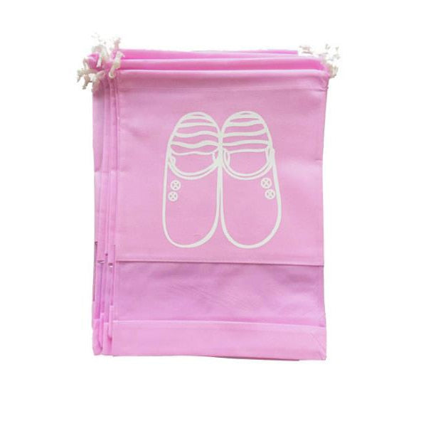 INHO CHANCY Drawstring Travel Shoe Pouch (2 Sizes/3 Colors) - I Have Wanderlust