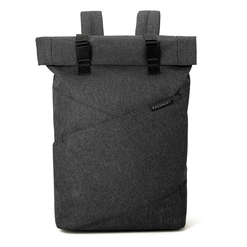 "The BAGSMART Hidden Access Big Mouth Rucksack for 15.6"" Laptop (3 colors) - I Have Wanderlust"