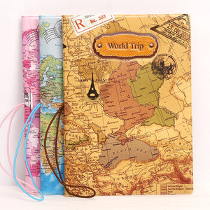 World Trip Passport Cover (3 Colors) - I Have Wanderlust