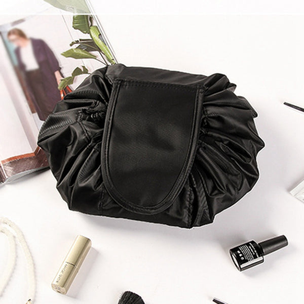 The Lay Flat Lazy Cosmetic Pouch (2 Colors) - I Have Wanderlust