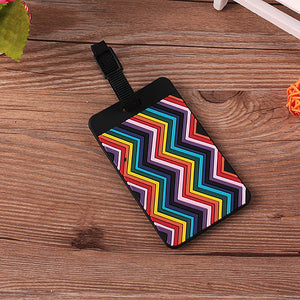 Abstract Luggage Tag (4 Colors) - I Have Wanderlust