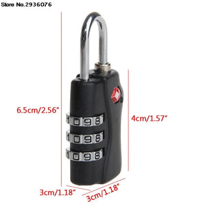TSA Resettable 3-Digit Combination Cable Lock (5 Colors) - I Have Wanderlust