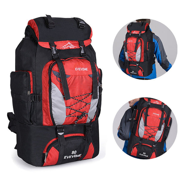 The 80L Trekker Backpackers Backpack (4 Colors) - I Have Wanderlust