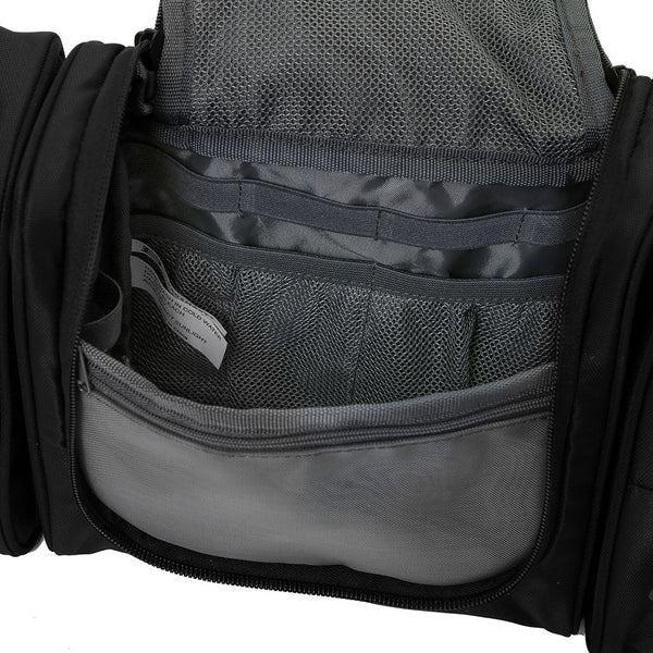 BAGSMART Deluxe Toiletry Bag with Detachable Side Pouches - I Have Wanderlust