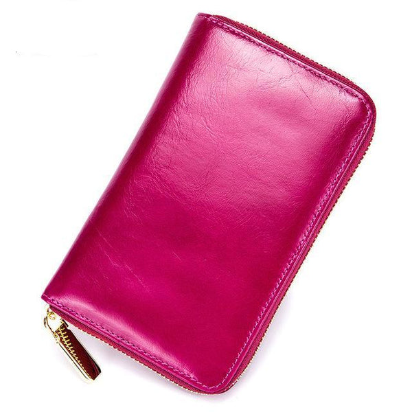 RFID Leather Travel Document and Smart Phone Holder (4 Colors) - I Have Wanderlust