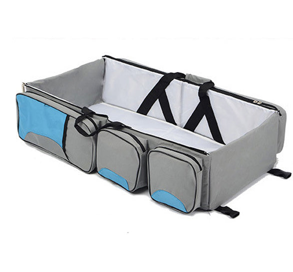 Full Size Portable Bassinet and Diaper Bag (3 Colors) - I Have Wanderlust