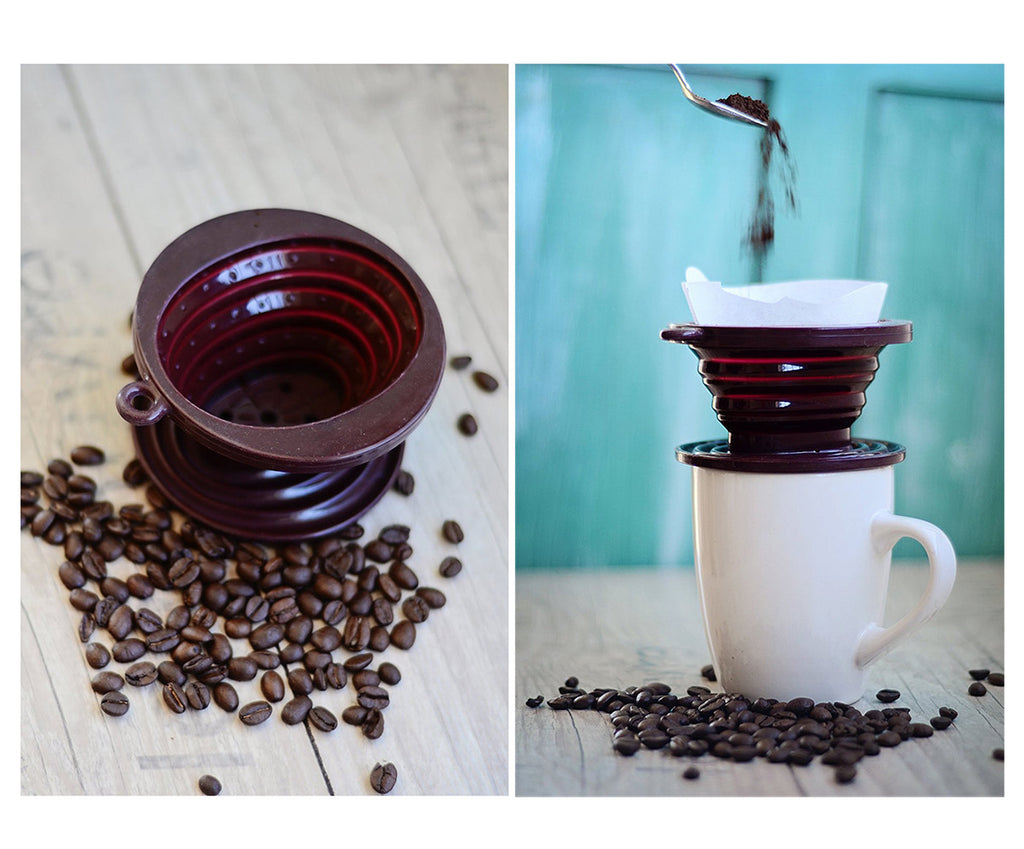 Coffee/Tea Collapsible Dripper Cone - I Have Wanderlust