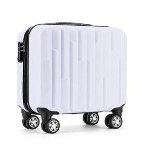 "18"" Carry-on Boarding Trolley Suitcase - I Have Wanderlust"