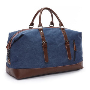 Canvas & Leather Classic Weekender (5 Colors) - I Have Wanderlust