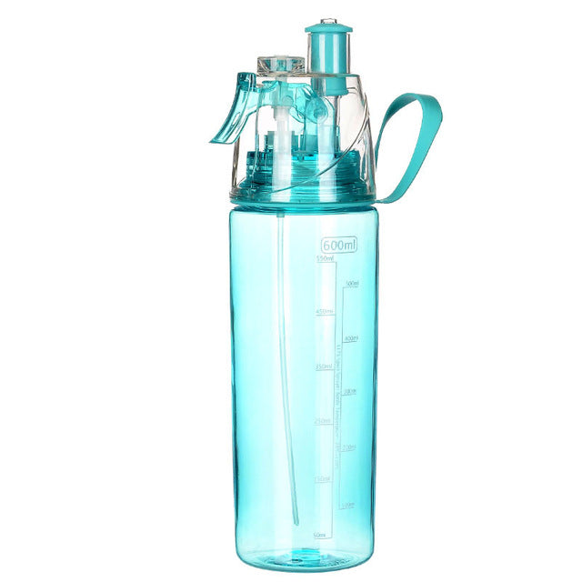 High Volume 600ML Water Bottle and Mister (4 Colors) - I Have Wanderlust