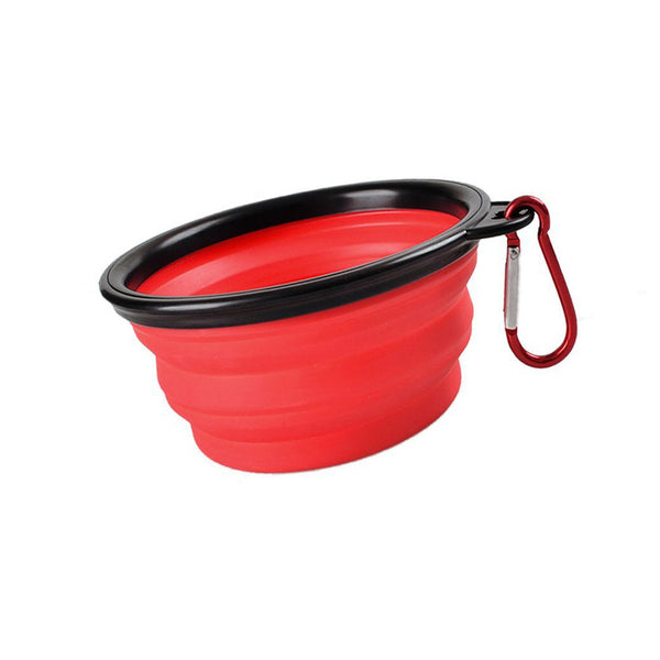 Clip-On Collapsible Dog Bowl (8 Colors) - I Have Wanderlust