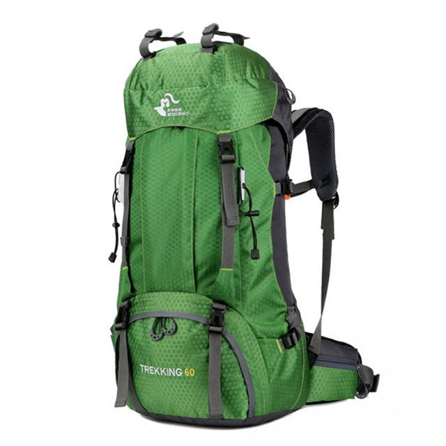 60L Backpackers Backpack with Rain Cover (4 Colors) - I Have Wanderlust