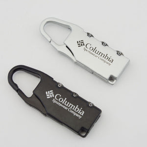 Columbia Luggage lock (2 Colors) - I Have Wanderlust