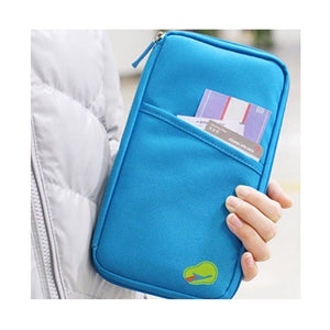 Zipped Family Passport Travel Wallet (8 Colors) - I Have Wanderlust